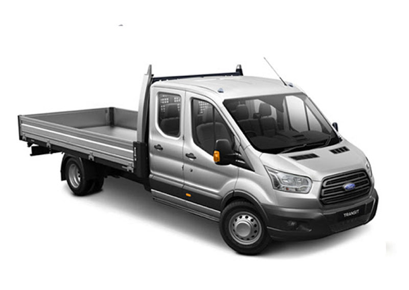 double cab dropside tail lift for hire hampshire